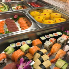 Buffet d'Asie - sushis